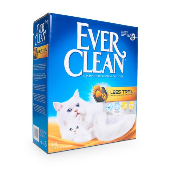 Ever-Clean-Super-Premium-Clumping-Cat-Litter-Less-Trail-10L-Product-Image-900x900px